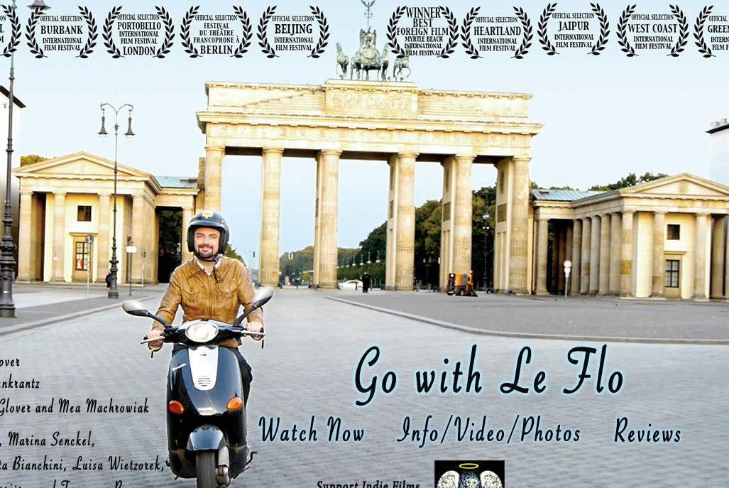 """Film """"Go with Le Flo"""" e concerto dei """"Bright Blue Gorilla"""""""