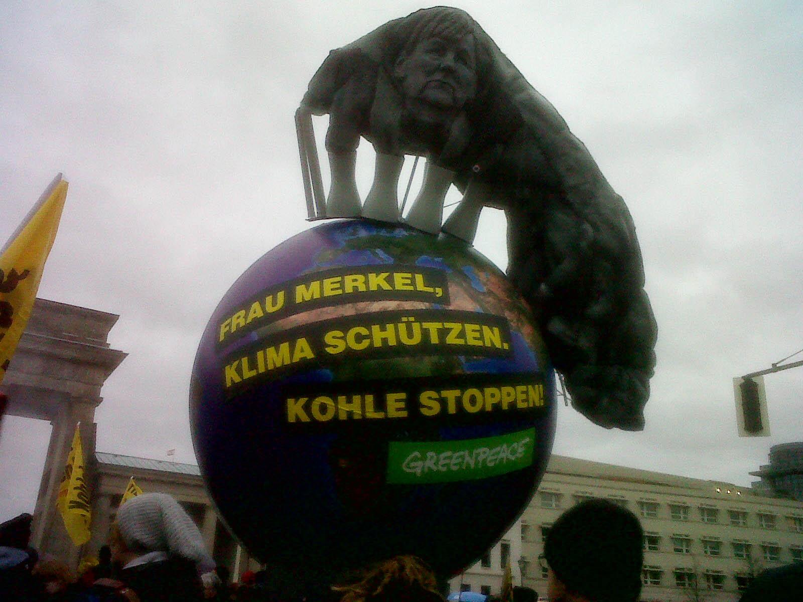 Global Climate March Berlin –   Anche Berlino fa sentire la sua voce!