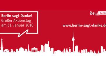 31 gennaio 2016: Berlin sagt danke