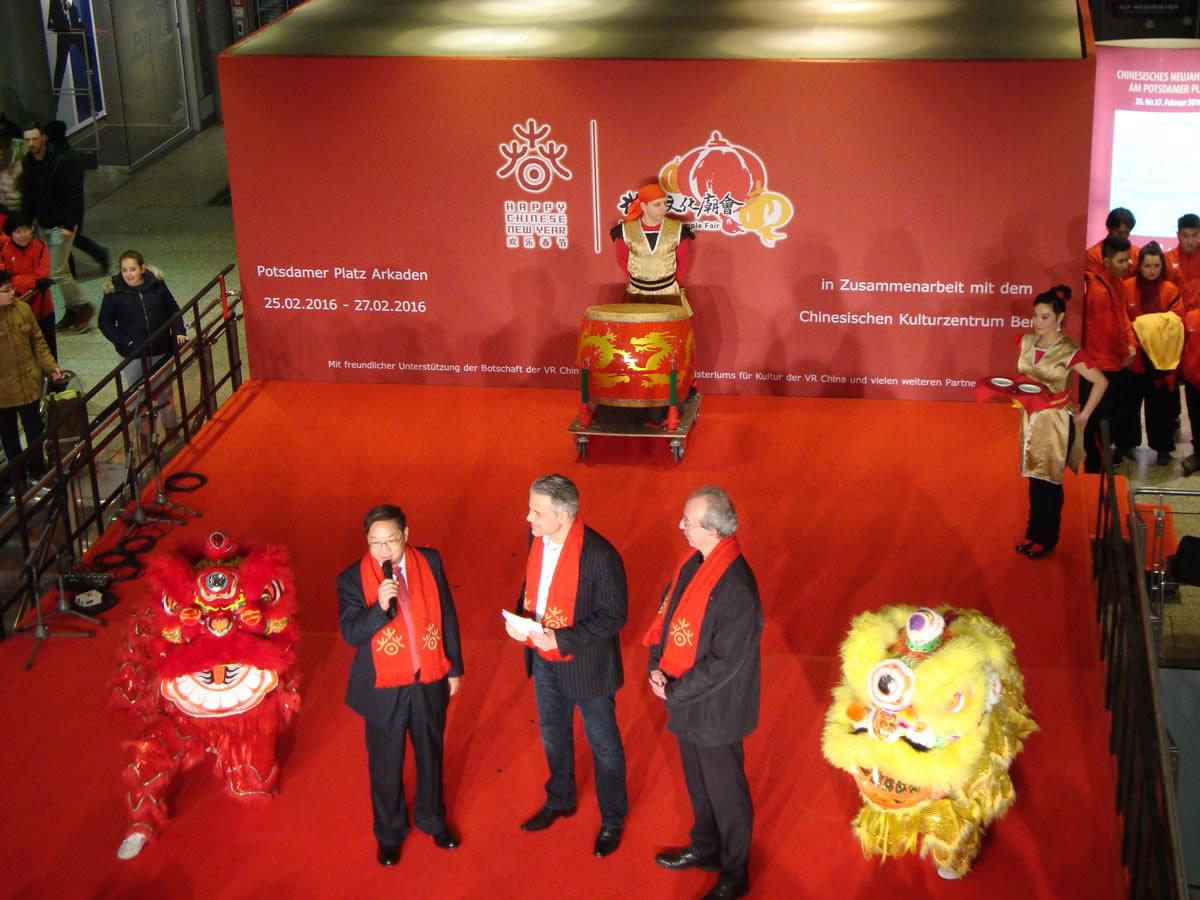 Chinesische Neues Jahr. Dalla Cina a Berlino.