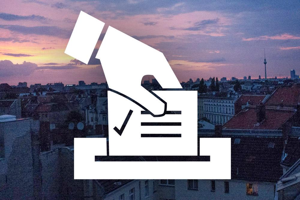 18 settembre: elezioni per il proprio distretto a Berlino