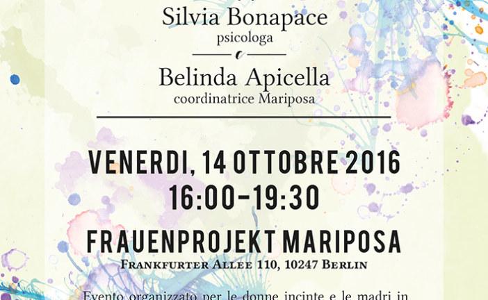 Venerdi 14 Ottobre Workshop sul congedo di maternità : trappola o opportunità?