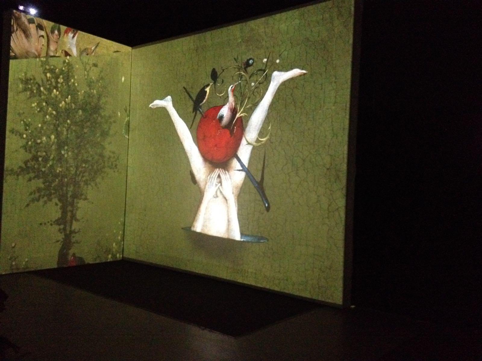 Hieronymus Bosch, mostra audiovisiva.