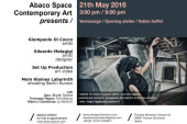 ABACO SPACE CONTEMPORARY ART vernissage
