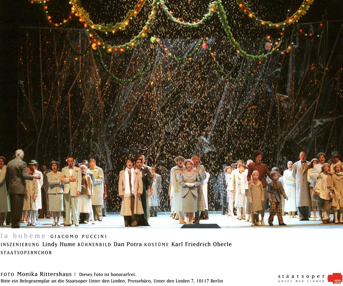 Giacomo Puccini: la Bohème e Tosca a teatro.