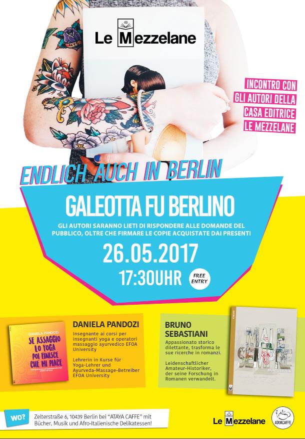 Presentazione libraria il 26 maggio alle 17.30 presso Ataya Caffé