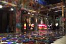 Parco giochi artistico interattivo. Arte e fotografia. Colori e divertimento.