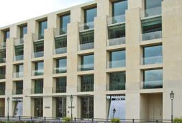 Frank Ghery a Berlino. La sede DZ Bank.