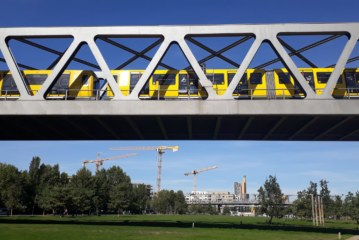 Un triangolo come compasso:Viaggio alla scoperta del nuovo parco cult di Berlino