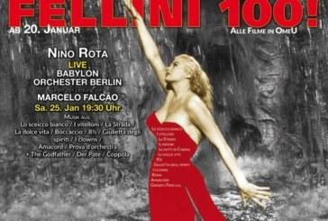 20.01.2020-18.02.2020 – Il Babylon celebra FELLINI 100! Retrospective: Compleanno, concerto dal vivo e tutti i film in italiano (sottotitoli in inglese)