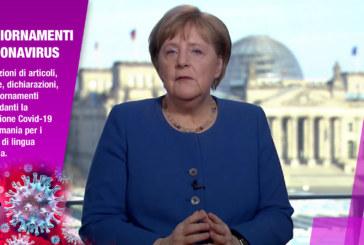 Traduzione del discorso della Cancelliera Angela Merkel del 18.03.2020