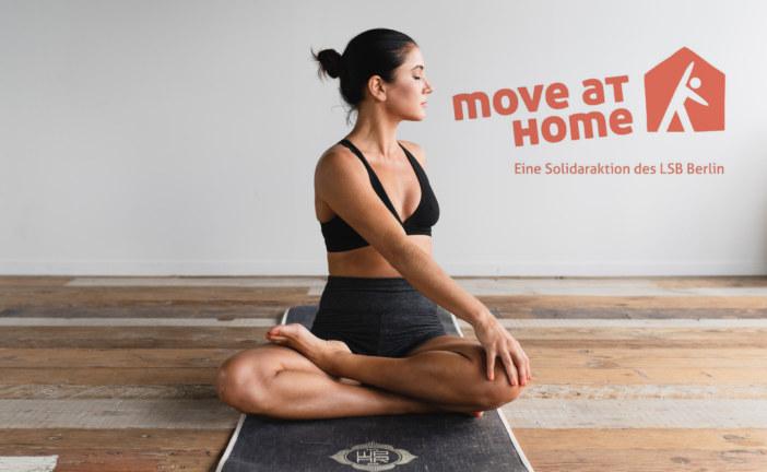 """""""Move at home"""" (muoviti a casa): il Landessportbund Berlin lancia un programma di fitness online"""