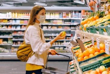 Mascherine nei supermercati