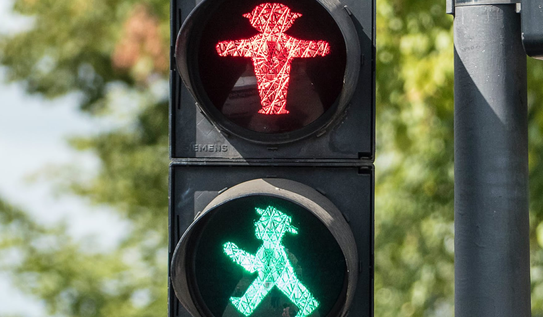 Il sistema di allerta a semaforo adottato a Berlino